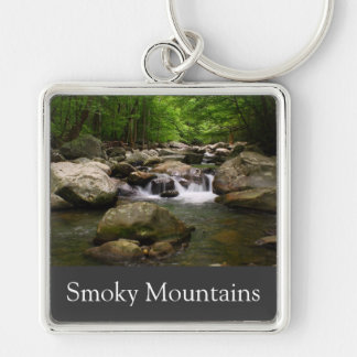 Smoky Mountain Waterfall keychain