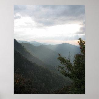 Smoky Mountains 002 Poster