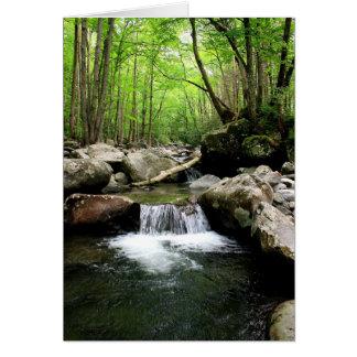 Smoky Mountains Greeting Card