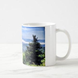 Smoky Mountains Clingman's Dome Basic White Mug