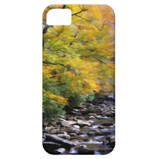 Smoky Mountains Fall Stream Barely There iPhone 5 Case