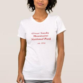 Smoky Mountains Ladies Singlet T-shirts