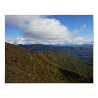 Smoky Mountains Near Asheville Poster