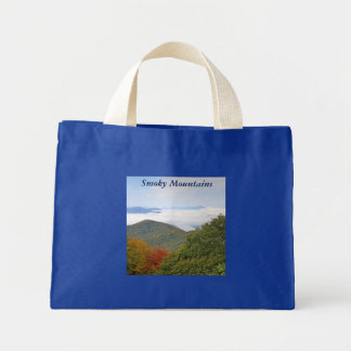 Smoky Mountains Mini Tote Bag