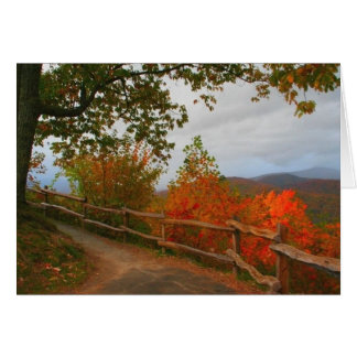 Smoky Mountains Trail Greeting Card