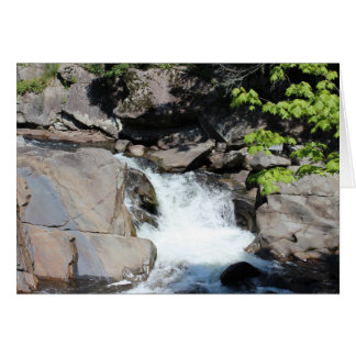 Smoky Mountains Waterfall Stationery Note Card