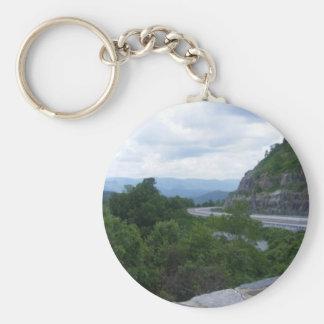 Smoky Mt. NC scenic overlook Key Ring
