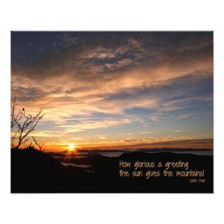 Smoky Mtn Sunrise/How Glorious… J Muir Photo Art