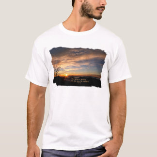 Smoky Mtn Sunrise/How Glorious… J Muir T-Shirt
