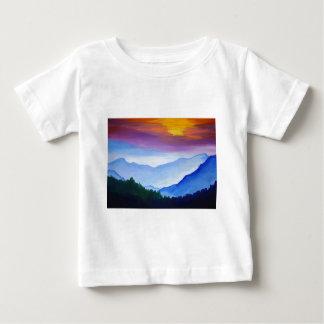 smoky mtn sunset baby T-Shirt