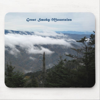 Smoky Mtns above the clouds Mouse Pad
