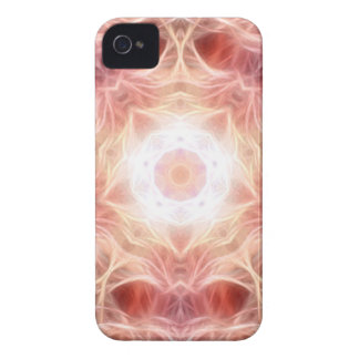 Smoky Pink Mandala Blackberry Cover iPhone 4 Cases