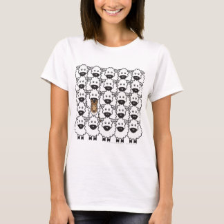Smooth Collie in the Sheep T-Shirt