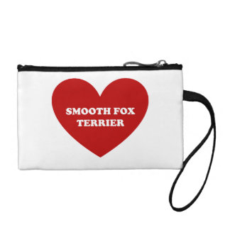 Smooth Fox Terrier Change Purse