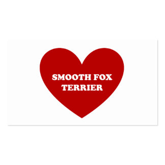Smooth Fox Terrier Business Card