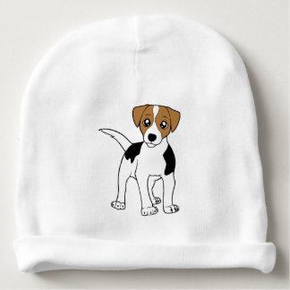 smooth fox terrier cartoon baby beanie