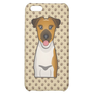 Smooth Fox Terrier Cartoon Cover For iPhone 5C