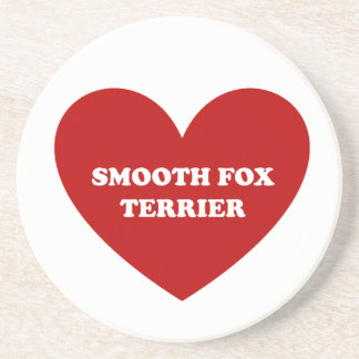 Smooth Fox Terrier Coaster
