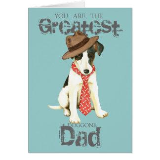 Smooth Fox Terrier Dad Card