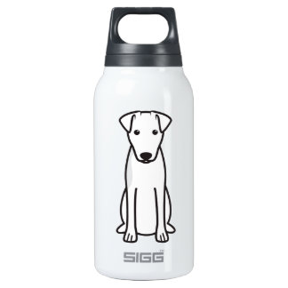 Smooth Fox Terrier Dog Cartoon 0.3L Insulated SIGG Thermos Water Bottle