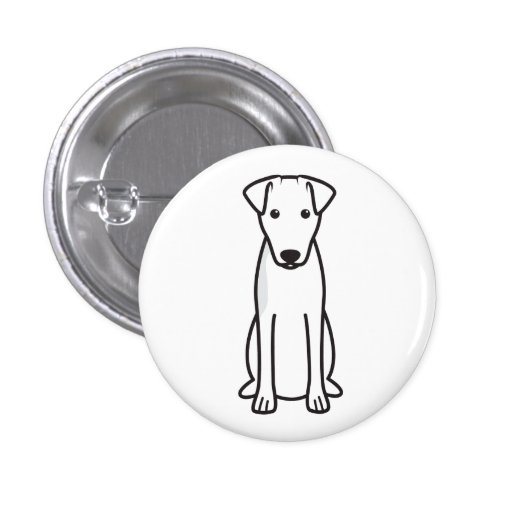 Smooth Fox Terrier Dog Cartoon Pins
