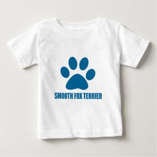 SMOOTH FOX TERRIER DOG DESIGNS BABY T-Shirt