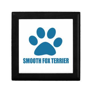 SMOOTH FOX TERRIER DOG DESIGNS GIFT BOX