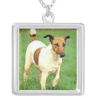 Smooth Fox Terrier Dog Necklace