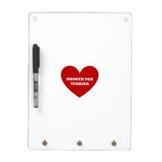 Smooth Fox Terrier Dry Erase Board