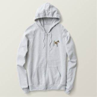 Smooth Fox Terrier Embroidered Hoodie