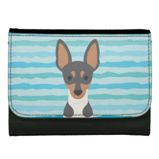 Smooth Fox Terrier Faux Leather Wallet