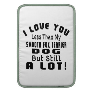 SMOOTH FOX TERRIER FUNNY DESIGNS SLEEVES FOR MacBook AIR