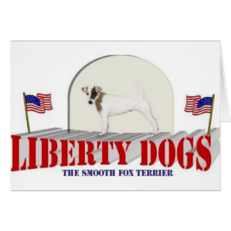 Smooth Fox Terrier Greeting Card