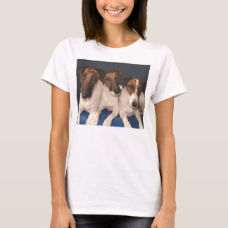 smooth fox terrier group T-Shirt