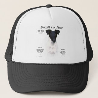 Smooth Fox Terrier History Design Trucker Hat