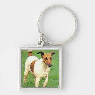 Smooth Fox Terrier Key Chain