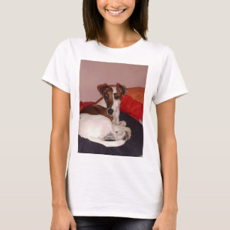 smooth fox terrier laying T-Shirt