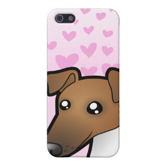 Smooth Fox Terrier Love iPhone 5 Covers