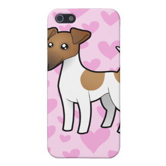 Smooth Fox Terrier Love iPhone 5 Cover