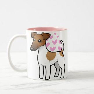 Smooth Fox Terrier Love Mugs