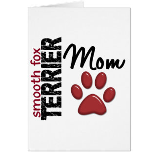 Smooth Fox Terrier Mom 2 Cards