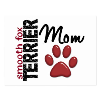 Smooth Fox Terrier Mom 2 Postcard