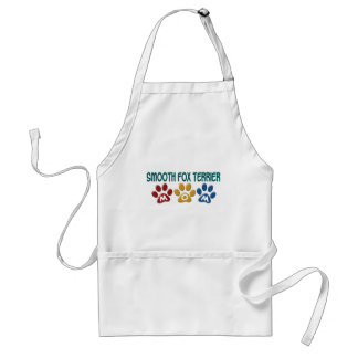 SMOOTH FOX TERRIER Mom Paw Print 1 Apron