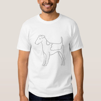 Smooth Fox Terrier Paint Your Own  Shirt