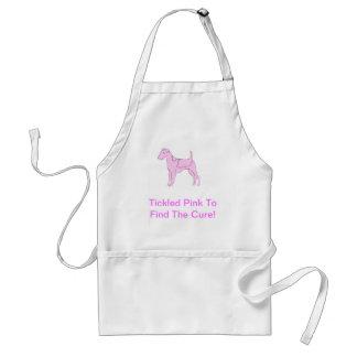 Smooth Fox Terrier Pink Dog Standard Apron