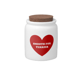Smooth Fox Terrier Candy Dishes