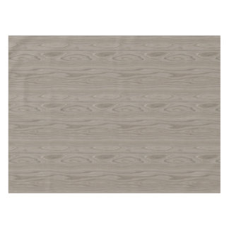 Smooth Gray Wood Tablecloth