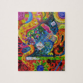 Smooth Jazz Abstract Art Puzzle