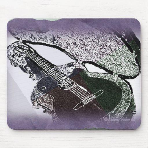 Smooth Jazz Guitar Mouse Mat