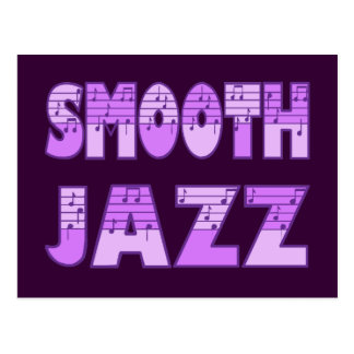 SMOOTH JAZZ POSTCARD
